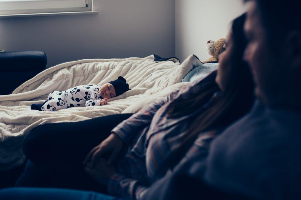 obiteljkso fotografiranje bebe doma