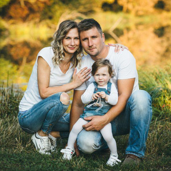 obiteljsko fotografiranje u jesen